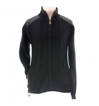 Aran Full Zip Cardigan R841750-5-MED